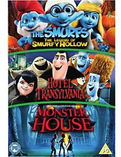 Hotel Transylvania/Monster House/The Smurfs: The Legend Of... [DVD][Region 2]