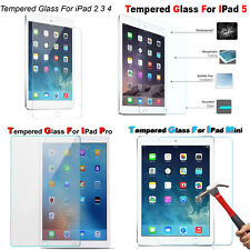 "Tempered Glass Screen Protector For Apple iPad 4 3 Pro 12.9"" & Air & Mini 3 2 1"
