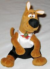 """Plush 8"""" Scooby Doo Dog Music Box Figurine Plays """"Why Do Fools Fall in Love"""""""