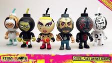 Diesel Fuel Artist Series Blow Up Dolls - Cherry Bomb heads - SET of 6 MIB