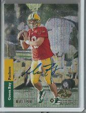 2008 SP Rookie Edition Football Matt Flynn Autographed Rookie Card # 190