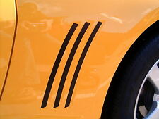 2010 2011 2012 2013+ Chevy Camaro Side Vent Inserts Inlays Vinyl Stripes Decals