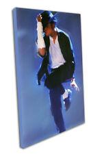 "Michael Jackson Pop Art stampa tela siglato 35 ""X20"""