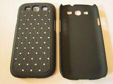 Black Diamond Bling Designer Hard Plastic Samsung Galaxy S3 SIII i9300 Case