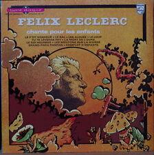 FELIX LECLERC CHANTE POUR LES ENFANTS RARE 25 CM FRENCH LP