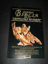 BIBLIA SAGRADA SANTA MUERTE 7 SELLOS SAGRADOS bible libro book poder