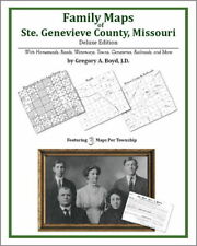 Family Maps Ste. Genevieve County Missouri Genealogy Pl