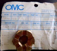 OMC Prop Nut Johnson Evinrude 314503 OEM NOS