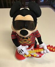 """Mickey Mouse Rock Star Interactive Toy Sings Dances with Guitar, 2010 Mattel 14"""""""
