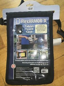 USA Gear FlexARMOR X Tablet Cover Case with Touch  Screen Protector New