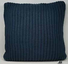 "Charter Club Damask Designs 20"" Square Sweater-Knit Decorative Pillow - Navy"