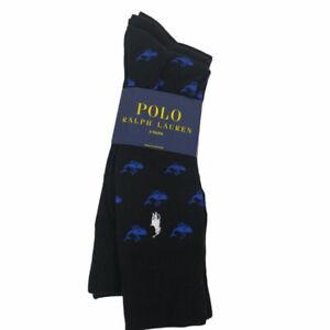 Polo Ralph Lauren Men's Socks - 3 Pairs - Black