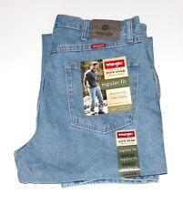 b00f5c5b Wrangler Five Star Regular Fit Jeans All Men's Sizes Dark Stone Color 32 30