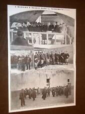 Terremoto in Calabria e Sicilia 28 dicembre 1909 Colonnelli Ferri e Chiapirone
