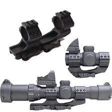 "1PCS Hunting QD 1""/30mm Rings 21mm Picatinny Weaver Rail Cantilever Scope Mount"