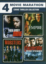 4movie DVD New Jersey Drive,EMPIRE,Carlito's Way,MOBSTERS Isabella ROSSELLINI