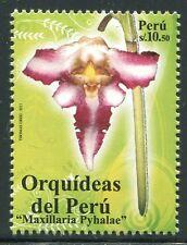 Perú 2011 orquídea Orchid flor Flower planta Plant 2528 post frescos mnh