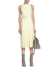 Gucci Pale Yellow Light Matte Cady Dress Original:$1750.00 Size 40IT/6US