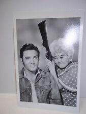 Photo Postcard Elvis Presley Joan Blondell