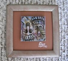 """Miniature Wood Picture Frame Faces 6"""" Wide"""