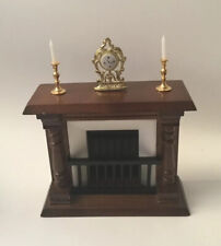 Dolls House Fireplace With Accessories