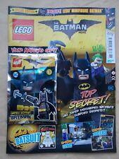 NEW THE LEGO BATMAN MOVIE SPECIAL LIMITED EDN MAGAZINE ED 3 +1 BATMAN MINIFIGURE