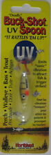 Northland Tackle BUCK-SHOT® UV RATTLE SPOON - 1/8 oz. - Green Perch