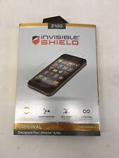ZAGG invisibleSHIELD Original iPhone 4 + 4S Military Grade Screen Protector 3PK