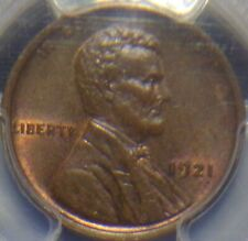 KEY DATE1921-P LINCOLN CENT BR/ PCGS-MS-64 UNDER GRADED STRONG STRIKE LQQK!!!!