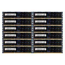 PC3L-10600 12x16GB HP Proliant DL320 DL360 DL370 DL380 ML330 ML350 G6 Memory Ram