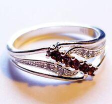 Diamond Cubic Zirconia Sterling Silver Fine Rings