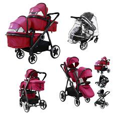 Unisex Toddler Pram System &In Line Travel Tandem Second Seat Baby New Boy Girl