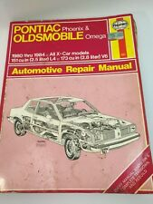 Pontiac Phoenix Oldsmobile Omega 1980-1984 HAYNES Owners Workshop Manual