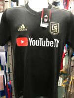 Adidas LAFC Home Jersey Black And Gold Stadium Kit Size M Men's Only