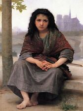 WILLIAM ADOLPHE BOUGUEREAU BOHEMIAN OLD MASTER ART PAINTING PRINT POSTER 3143OMA