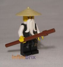 Lego Sensei Wu from sets 2255, 2507 Fire Temple + 2521 Dragon Battle NEW njo026