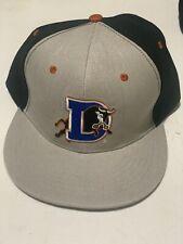 Durham Bulls Minor League Carolina Hurricanes Hockey Snapback Hat Cap NWOT