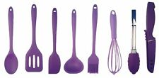 My XO Home Silicone Kitchen Cooking Tools (Purple)