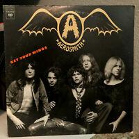 "AEROSMITH - Get Your Wings (CBS KC 32847) - 12"" Vinyl Record LP - EX"