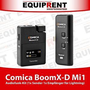 Comica BoomX-D Mi1 Audio Funkstrecke Kit für iPhone Lightning Anschluss (EQX21)