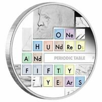 2019 Periodic Table 1oz Silver Proof Coin - Perth Mint - SCIENCE