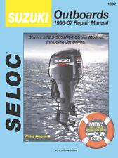 Seloc Repair Manual Suzuki 1996-2007 - 2-300 HP - 1-4 Cylinder - V6 - 18-01602