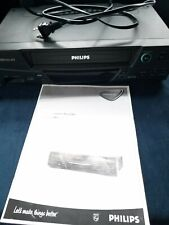 Philips Magnavox VRZ244AT01 VHS Player 4 Head Hi-Fi VCR Video Cassette Recorder
