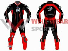 MV Agusta One Piece Motorbike Racing Leather Suit All Size Available