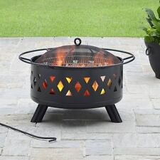 "Better Homes and Gardens 28"" Lattice Heavy Duty Fire Pit W"