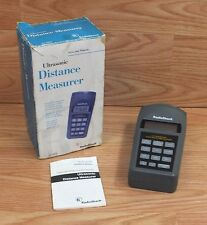 Radio Shack (63-1005) Area & Volume Ultrasonic Distance Measurer With Memory