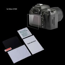 Tempered Glass Camera LCD Screen Protector Guard Cover Film For Nikon D7000 New