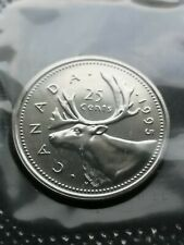 *** CANADA  25  CENTS  1995 ***  SEALED  PROOF  LIKE  ***