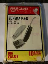 Pack of 9 Eureka F&G Upright Vacuum Cleaner Bags Carpet Care Brand New Open Bag