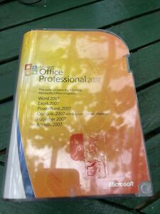 Microsoft Office 2007 Professional Windows 10 7 Word Excel Outlook Lifetime 365